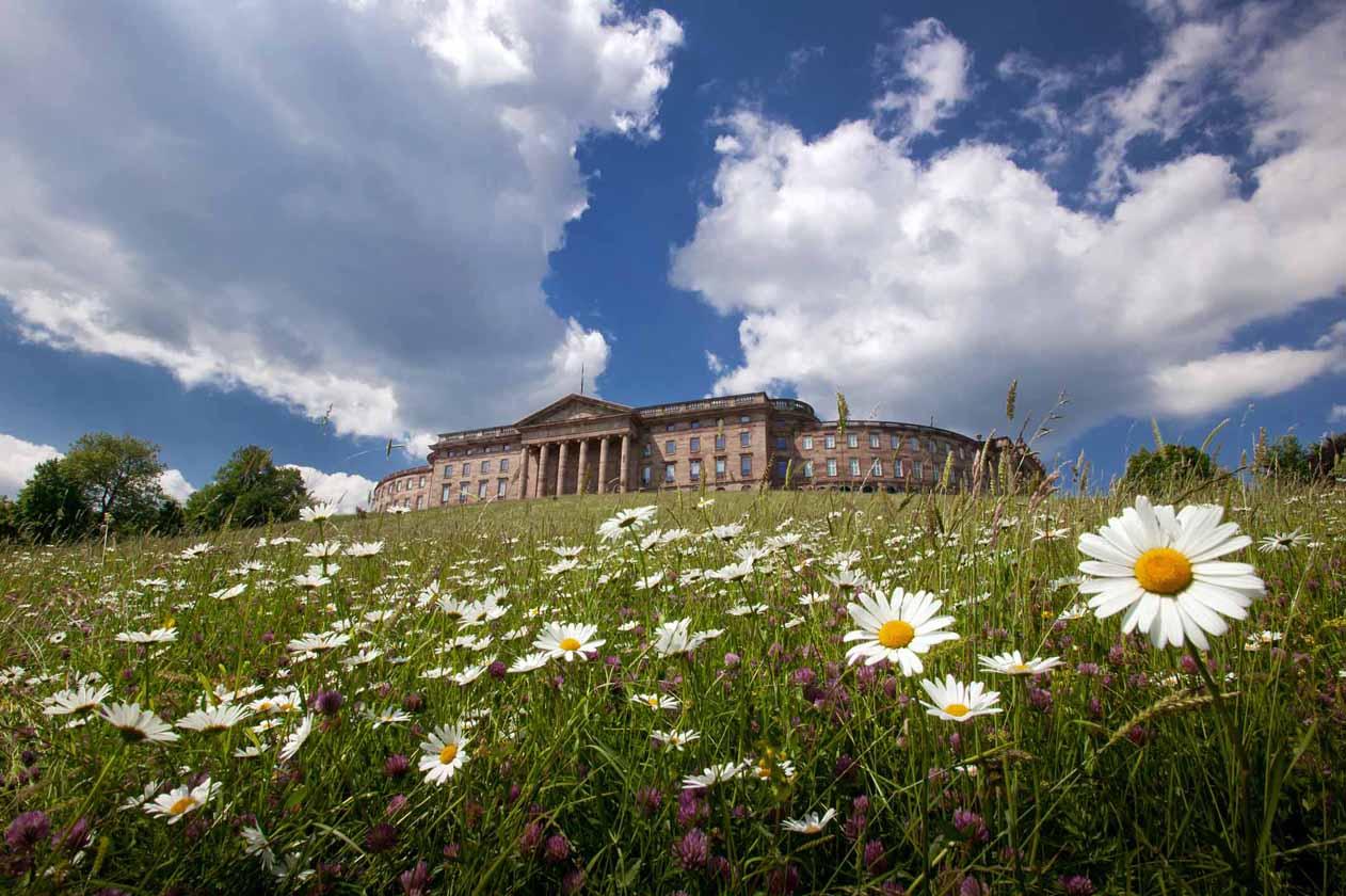 Schloss Wilhelmshoehe in Kassel.